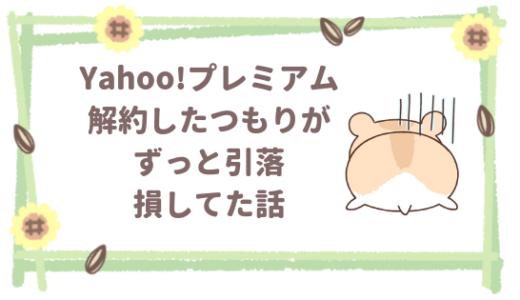 カード引落継続?Yahoo!プレミアム解約(退会)できない?複数IDの対処方法